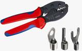 crimping-tool, solderless terminals, Knipex, 975233