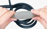 Expandable braided sleeving - PET